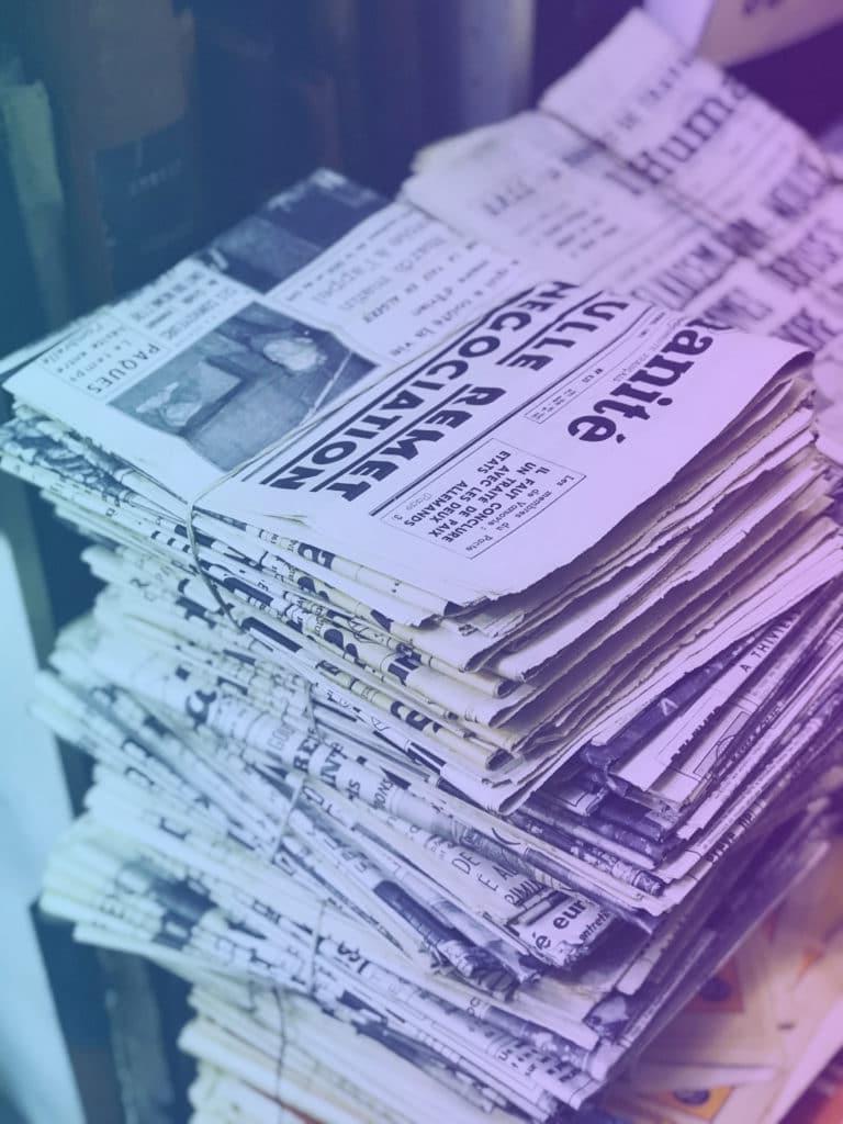 journaux-emplilés